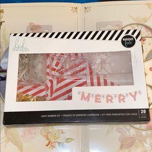 Heidi Swapp  - Christmas - Banner Kit 😍😍😍